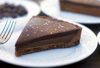 طرز تهیه کارامل شکلاتی در خانه
