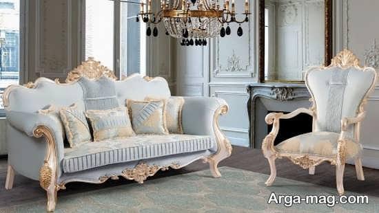 مدل مبلمان کلاسیک سلطنتی