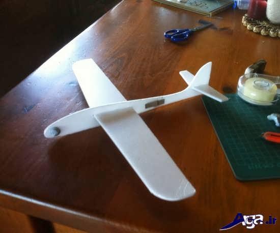 کاردستی خلاقانه هواپیما