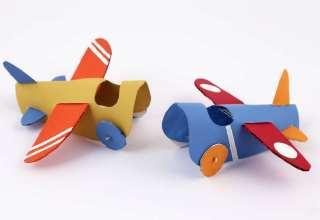 کاردستی هواپیما برای بچه ها