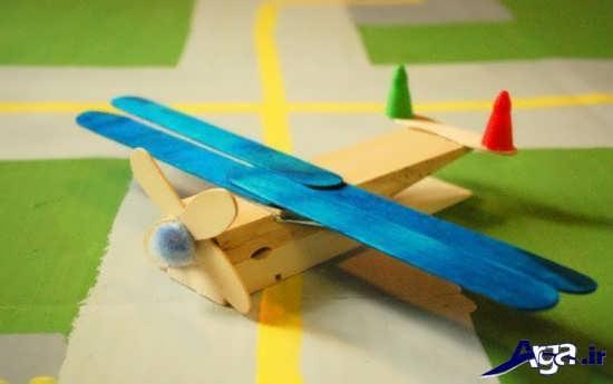 ساخت هوایپما با چوب