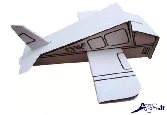 هواپیمای مقوایی جالب و دیدنی