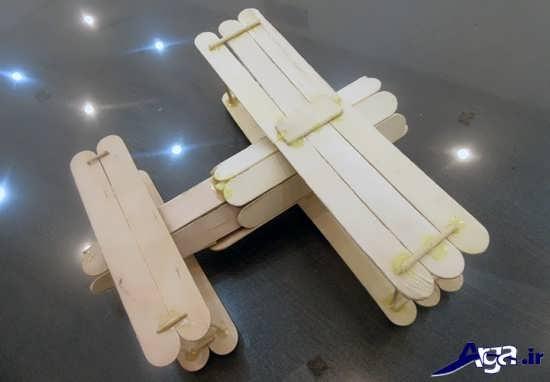 ساخت کاردستی با چوب بستنی
