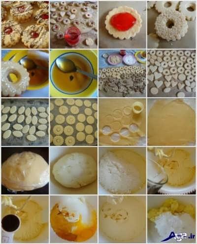 دستور پخت شیرینی مربایی