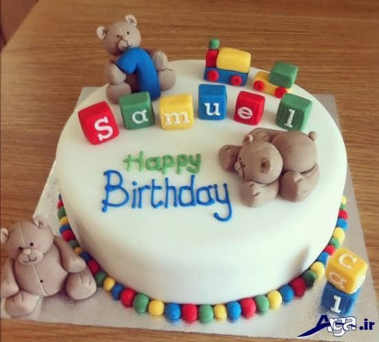 تزیین کیک تولد جدید برای بچه ها