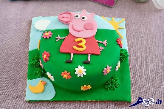 تزیین کیک تولد کودک پسر