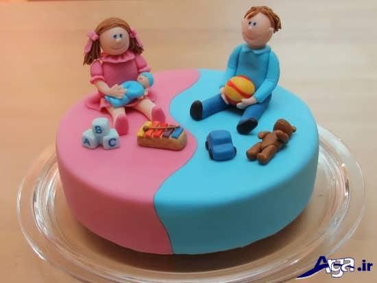 مدل کیک تولد کودک جدید