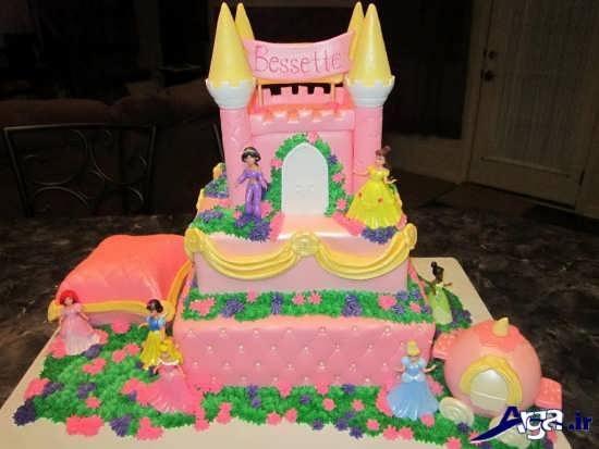 تزیین کیک تولد کودک جدید