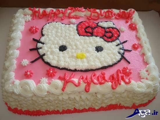 تزیین کیک تولد جدید کودکانه