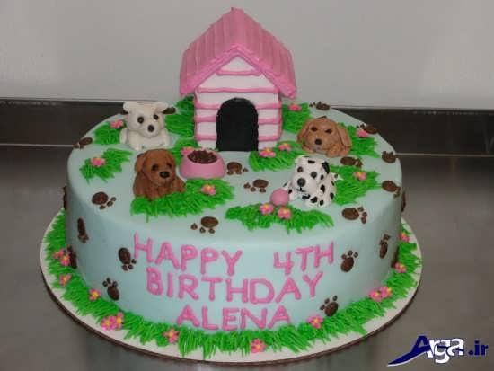 تزیینات کیک تولد برای بچه ها