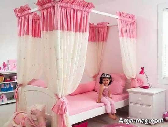 تصاویری از تزیینات اتاق خواب دخترانه