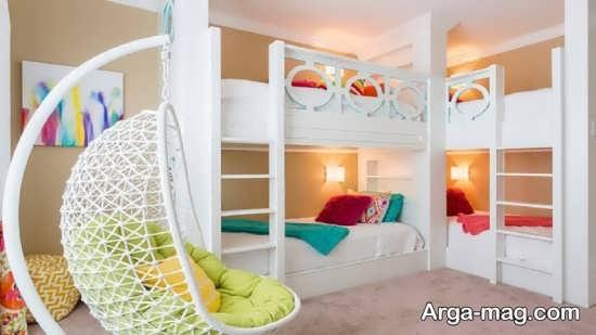 تزیینات زیبای اتاق خواب دخترانه