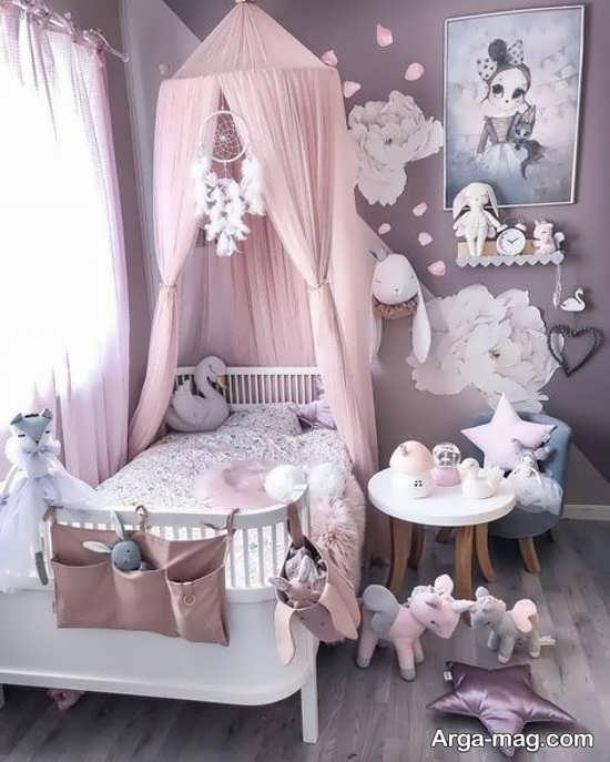 تزیینات اتاق خواب دخترانه