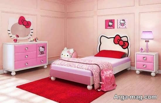 انواع تزیینات اتاق خواب دخترانه