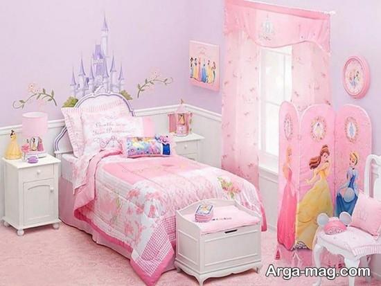 تزیینات اتاق خواب دخترانه زیبا