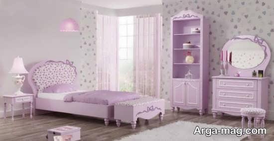 تزیینات اتاق خواب دخترانه جدید