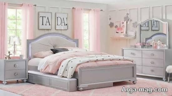 تزیین اتاق خواب دخترانه جذاب