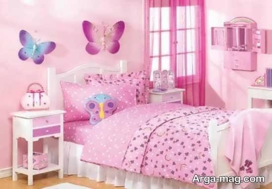 مدل تزیینات اتاق خواب دخترانه