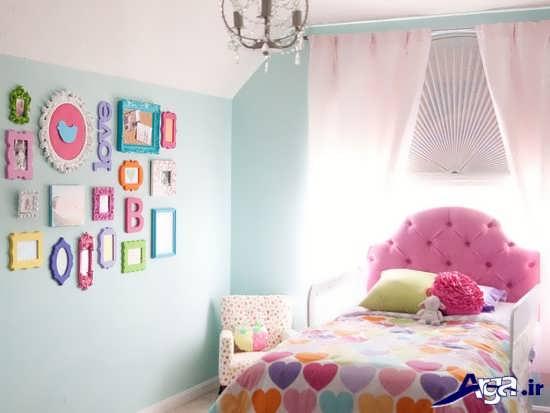 تزیین زیبای اتاق خواب دخترانه