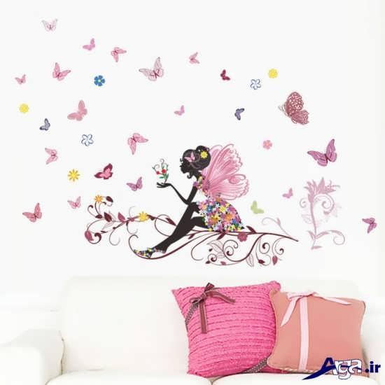 تزیین دیوار اتاق دخترانه