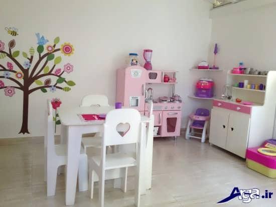 تزیین اتاق دختر با عروسک های فانتزی