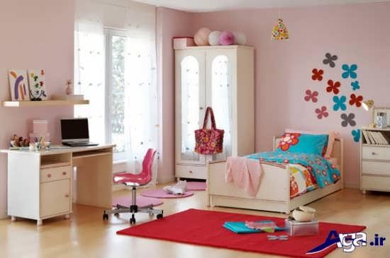 تزیینات بسیار زیبای اتاق دخترانه