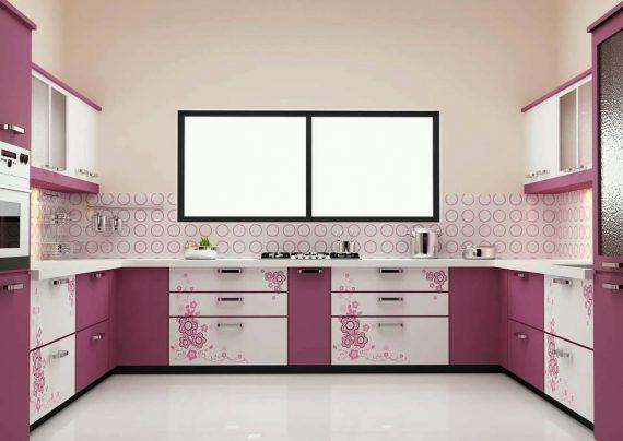 تزیین درب کابینت های آشپزخانه