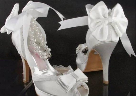 تزیین کفش عروس