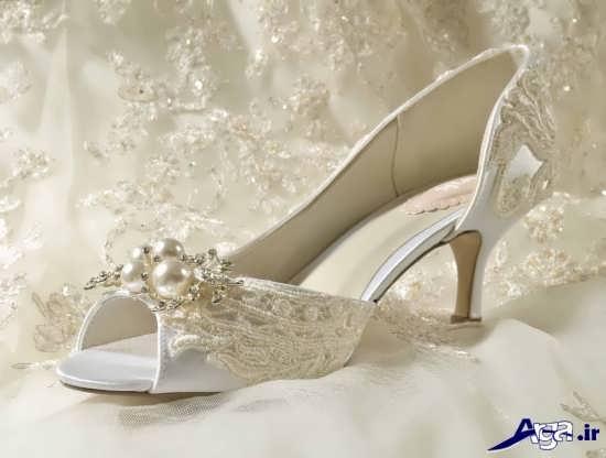تزیین کفش عروس جدید