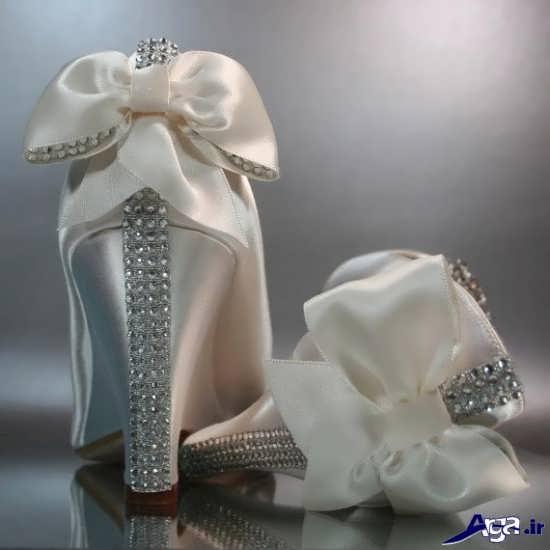 تزیین کفش های عروس
