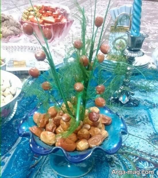 تزئین سنجد هفت سین با ایده های زیبا