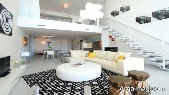 دکور زیبای خانه دوبلکس