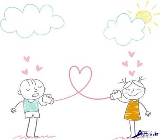 تصاویر عاشقانه جالب و زیبا