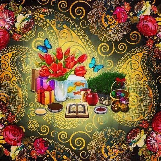 عکس پروفایل زیبای عید نوروز