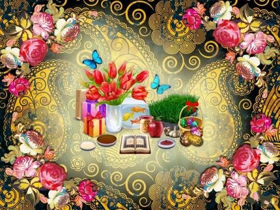 عکس پروفایل زیبا برای عید نوروز