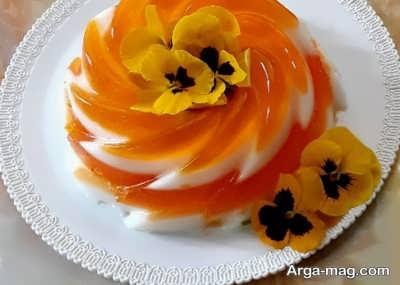 طریقه تهیه دسر پرتقال