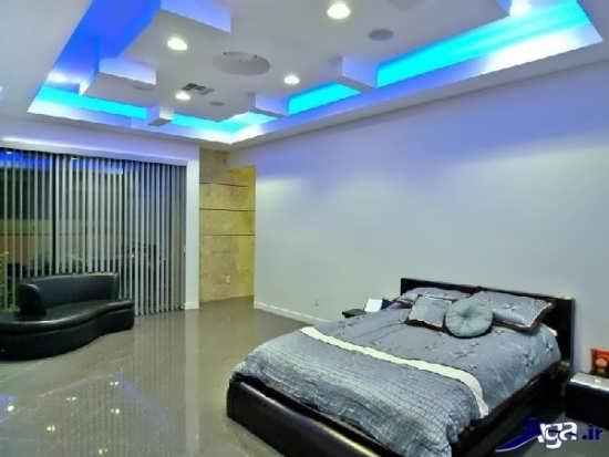 طرح کناف سقف یا سقف کاذب برای اتاق خواب