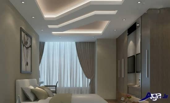 سقف اتاق خواب با طرح کناف