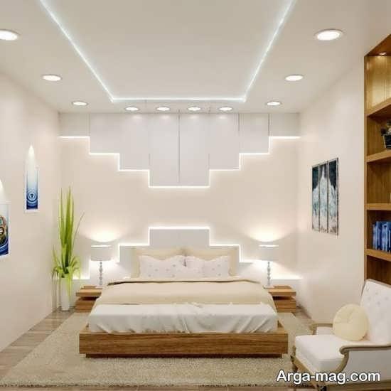 جذاب ترین کناف سقف اتاق خواب