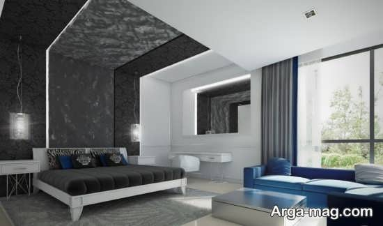 کناف اتاق خواب با طراحی جدید