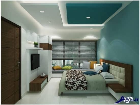 سقف اتاق خواب با طرح کناف جدید