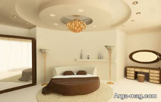 کناف اتاق خواب با طراحی جذاب