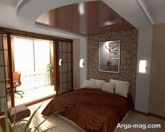 کناف اتاق خواب با طراحی به روز