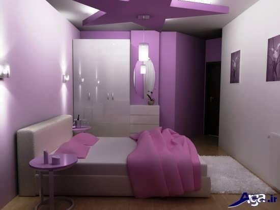 طرح کناف خلاقانه برای سقف اتاق خواب