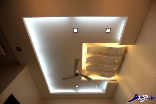 کناف سقف اتاق خواب با طرح های زیبا