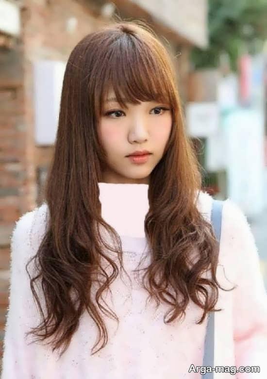 مدل مو جذاب دخترانه کره ای