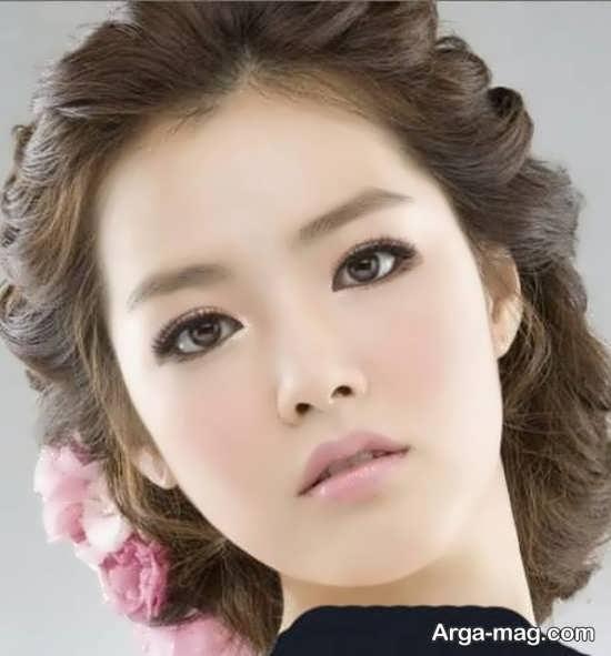 مدل مو و شنیون دخترانه کره ای