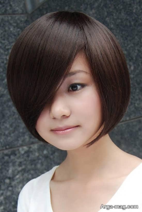 تصاویری از آرایش مو دخترانه کره ای