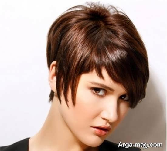 مدل مو کوتاه دختران کره ای