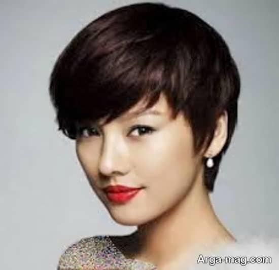 مدل مو دخترانه کره ای کوتاه